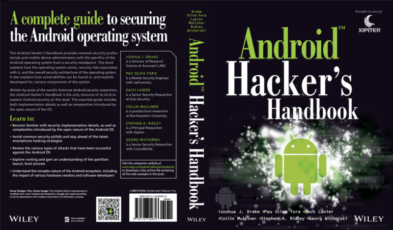 Reddit AMA with the Authors of the Android Hacker's Handbook - NowSecure