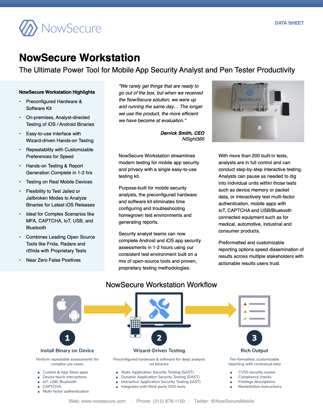 Power Tools For Security Analysts Nowsecure