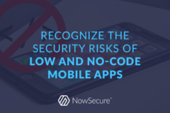 Low and No-Code Mobile Apps Header Image